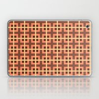 Pattern Peach Laptop & iPad Skin