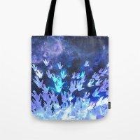 H.E.L.L.O. / blue version Tote Bag