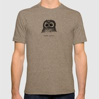 Double Espresso Mens Fitted Tee Tri-Coffee SMALL