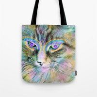 Circus Cat Tote Bag