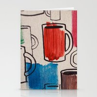 Retro Cup Stationery Cards