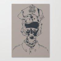 It's the POElice! Canvas Print