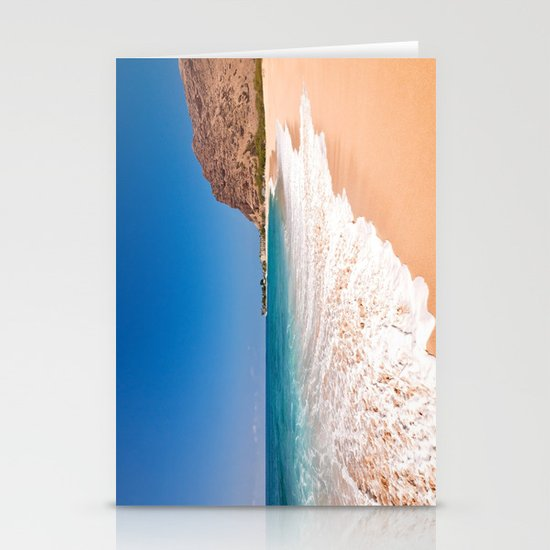 Makaha Beach Stationery Card
