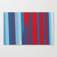Red, White, Blue Canvas Print