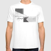 Sketch. (Nile #2) Mens Fitted Tee White SMALL