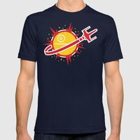 Great Shot, Kid! Mens Fitted Tee Navy SMALL