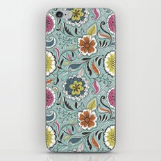 Floral Pattern #45 iPhone & iPod Skin
