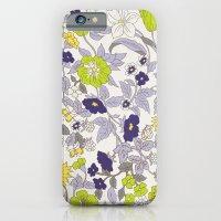Floral Garden - Blues An… iPhone 6 Slim Case