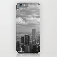 iPhone & iPod Case featuring chicago... by Chernobylbob