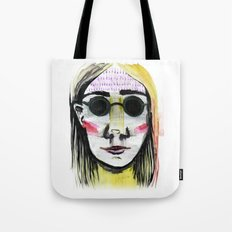 Head Shot #4 Tote Bag