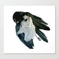 MOCKING BIRD SERIES #2 Canvas Print