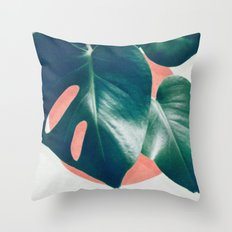 MONSTERA #1 Throw Pillow
