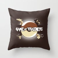 Game Of Trainers Throw Pillow