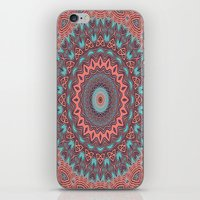Tribal Medallion Rust iPhone & iPod Skin