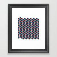 BP 78 Star Hexagon Framed Art Print