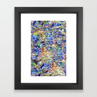 Marbles Framed Art Print