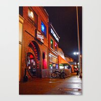 South Tacoma night scene Canvas Print