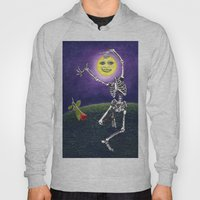 Skeleton Moon Hoody
