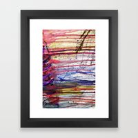 Dripping Framed Art Print