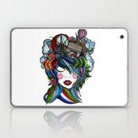 Paris Girl Laptop & iPad Skin
