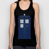 Doctor Who's Tardis Unisex Tank Top