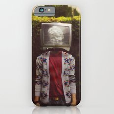 This TV haze sucks me through. I watch the world from the inside iPhone 6s Slim Case