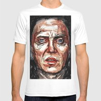 Walken Mens Fitted Tee White SMALL