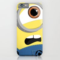 iPhone Cases featuring Minion by Janice Wong
