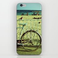 Bicycle by the Beach iPhone & iPod Skin