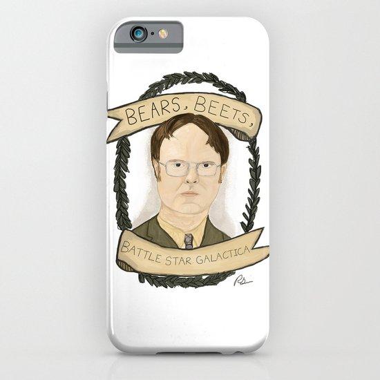 Dwight Schrute iPhone & iPod Case