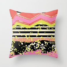 The Edge Throw Pillow