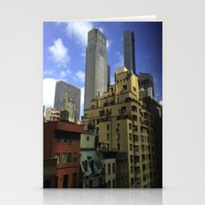 New York MoMA (view from inside) Stationery Cards
