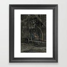 Long ride Framed Art Print