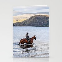 Horse At Airds Bay Loch … Stationery Cards