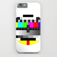 iPhone & iPod Case featuring TV by Les Hameçons Cibles