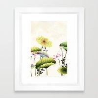LIKE A FLOWER XLII Framed Art Print