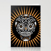 Sugar Skull SF  Stationery Cards