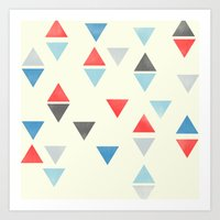 Triangle : Pattern Art Print