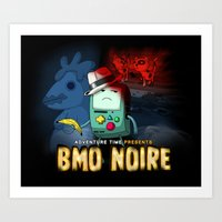 Adventure Time: BMO Noir… Art Print