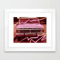 Pickup Framed Art Print