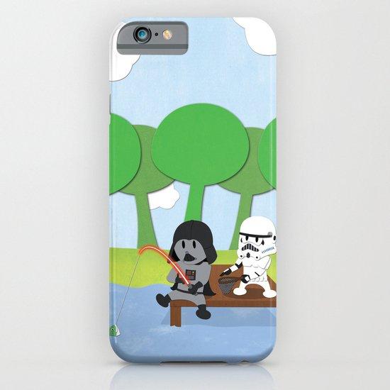 SW Kids - Darth Fishing iPhone & iPod Case
