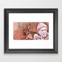 Sealalope Screams Bukows… Framed Art Print