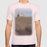 The View To Blefuscu... Mens Fitted Tee Light Pink SMALL