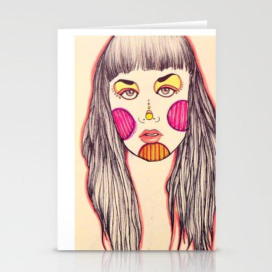 bubblegum Stationery Card
