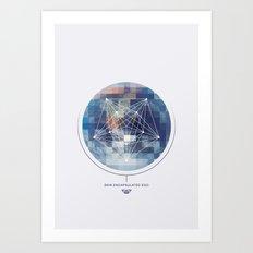 Skin Encapsulated Ego Art Print