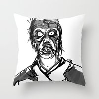 I will not eat IT! Throw Pillow