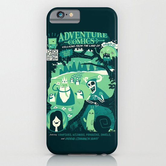 Adventure Comics iPhone & iPod Case
