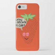 Strawberry Fields iPhone 7 Slim Case