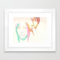 Lick Framed Art Print