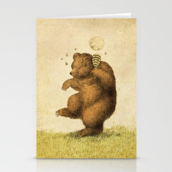 Honey Bear Stationery Card